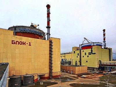 На Ростовской АЭС произошел пожар