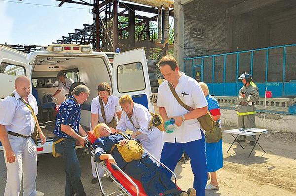 Медицина катастроф в Волгограде удостоена высокой оценки