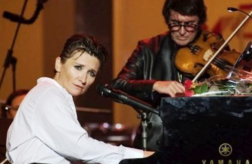 Диана Арбенина и Юрий Башмет в Сочи дали совместный концерт