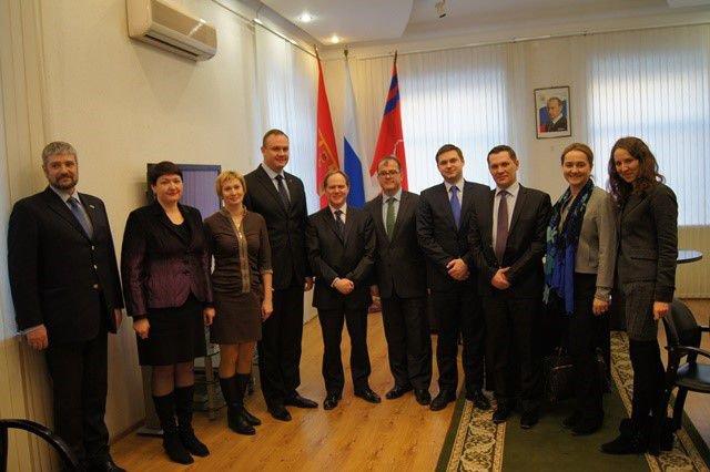 В рамках подготовки к ЧМ-2018 Волгоград посетили представители Великобритании