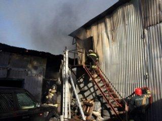 В Сочи произошёл серьёзный пожар