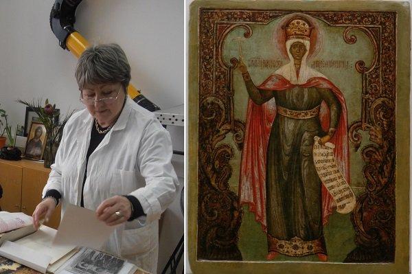 В Астрахани закончили реставрацию старинных икон