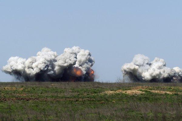 На полигоне в Ростовской области произошло ЧП