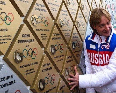 Е. Плющенко принял участие в первомайском шествии и заявил о желании выступать за Сочи