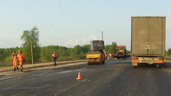 Трассу М-6 «Каспий» активно ремонтируют