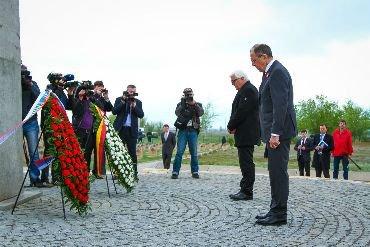 В Волгограде министры иностранных дел России и Германии почтили память погибших во время ВОв бойцов