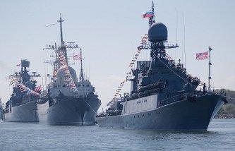 В Новороссийске в Параде Победы участвовали военные корабли КНР