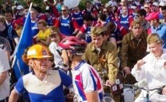 По Астрахни сегодня проедет велопарад Победы