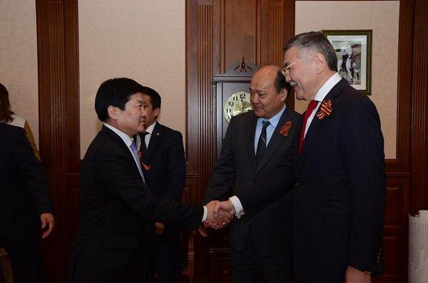 Делегация из Монголии побывала в Элисте