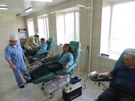 Акция «Донор-спасатель» прошла в Калмыкии