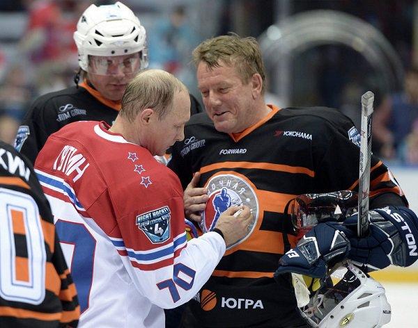 Президент РФ принял участие в играх Ночной хоккейной лиги