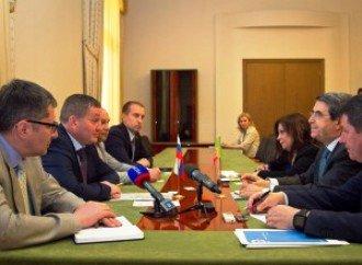 В Волгограде состоялась встреча посла Португалии и губернатора А. Бочарова