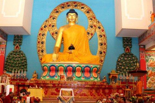 День рождения Будды впервые объявлен нерабочим днём в Калмыкии