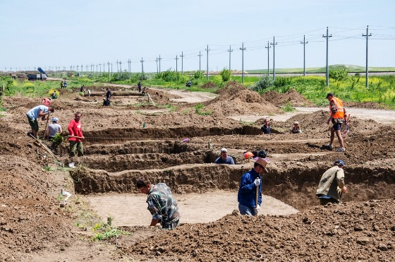 Масштабные археологические исследования проводятся на берегу и в акватории Керченского пролива