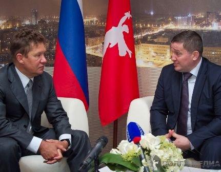 Губернатор Волгоградской области и глава «Газпрома» обсудили социальное сотрудничество