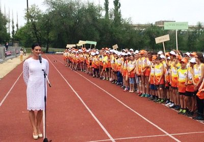 В Волгограде прошел спортивный праздник на призы Е. Исинбаевой