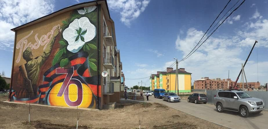 Жилой микрорайон «Победа» строится в селе Началово под Астраханью
