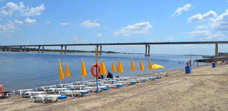 Волгоградцы в этом году останутся без основного пляжа