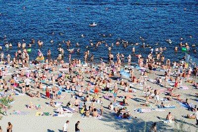 Чемпионат мира по футболу лишил Волгоград единственного цивилизованного пляжа