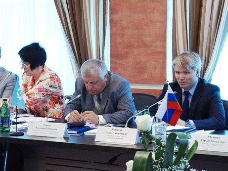Представители стран СНГ обсуждают в Сочи развитие спорта до 2020 года