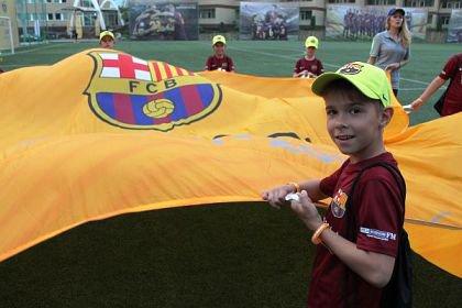 В Сочи открылся детский лагерь ФК «Барселона»