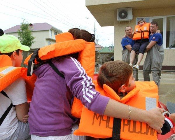 В районе Сочи завершены аварийно-спасательные работы