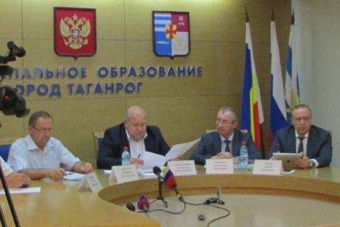 Выйти из кризиса помогут Таганрогу областные чиновники