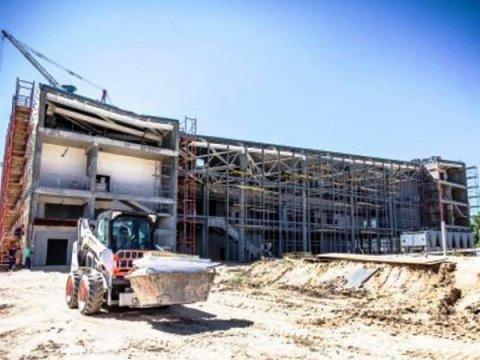 Новый терминал аэропорта Волгограда готов на 70%