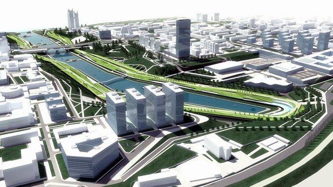 Окончательный проект развития поймы реки Царица обнародуют в октябре