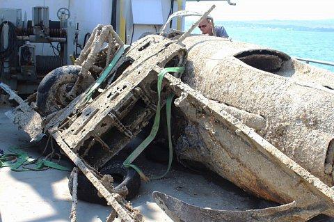На дне Керченского пролива обнаружен самолёт времён Отечественной войны