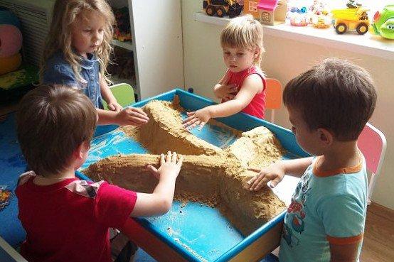 Песочную терапию начали использовать в детском саду Краснодара