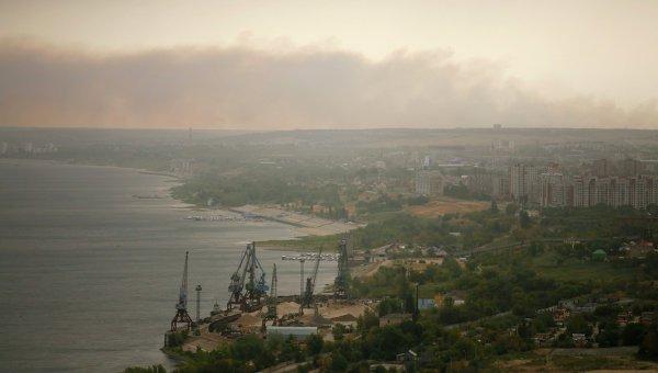 Пожар на химзаводе стал причиной появления смога над Волгоградом