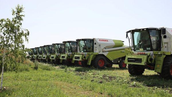 На Кубани запустили вторую очередь завода немецкого концерна CLAAS