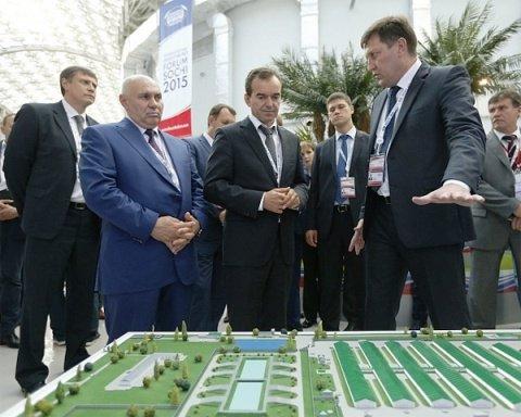В. Кондратьев обсудил проекты, представленные на инвестиционном форуме в Сочи