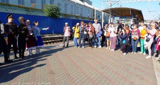 Путешествующие железнодорожным круизом