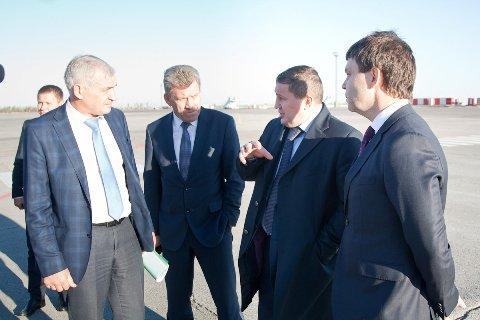 Строящийся волгоградский аэропорт соединит железнодорожный и аэро - вокзалы