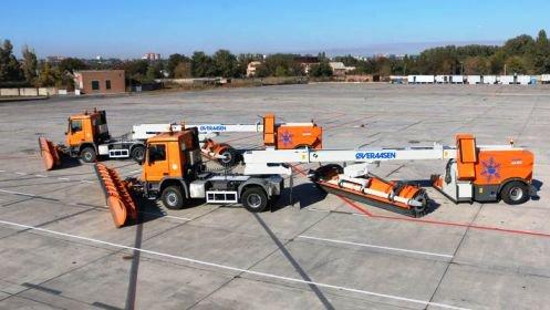 Ростовский аэропорт закупил норвежскую снегоуборочную технику
