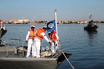 В Астрахань прибыли военные корабли из Ирана