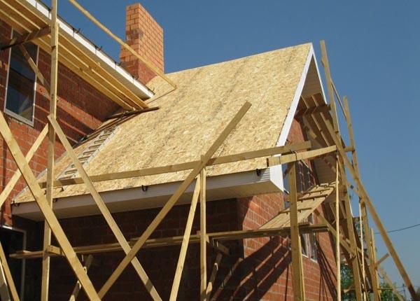 ОСП как материал для крыши