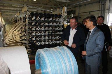 В Волжском состоялось выездное совещание, организованное комитетом промышленности и торговли Волгоградской области