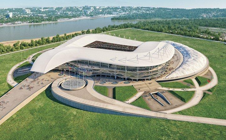В Ростове на левобережье Дона появится новый спортивно-развлекательный кластер