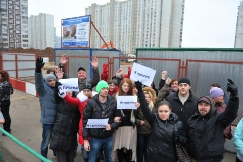 Жители Ростова  протестуют против строительства хранилища для радиоактивных отходов
