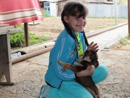 Девятилетняя астраханская школьница получила медаль за мужество
