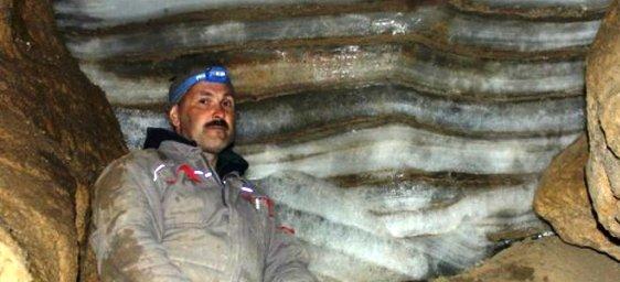 Ледяную пещеру обнаружили ученые Астрахани в Казахстане