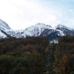 В Сочи раньше обычного времени стартовал горнолыжный сезон
