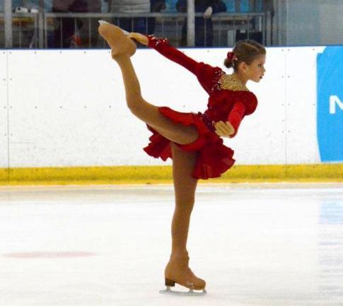 Волгоградская школа зимних видов спорта готовит юных фигуристов