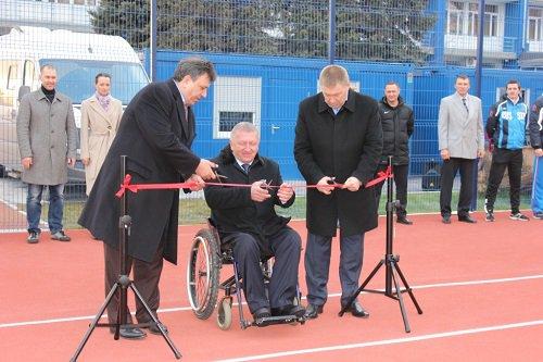 Новый тренировочный комплекс под открытым небом появился в Волгограде