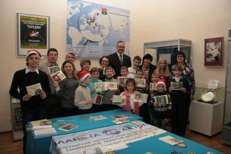 Дети Волгограда  отправили поздравительные открытки мэрам городов-побратимов