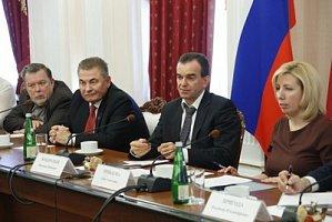 Губернатор Краснодарского края провёл встречу с представителями кубанских СМИ