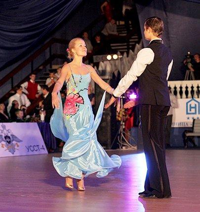 В Краснодаре прошел открытый турнир по спортивным  танцам